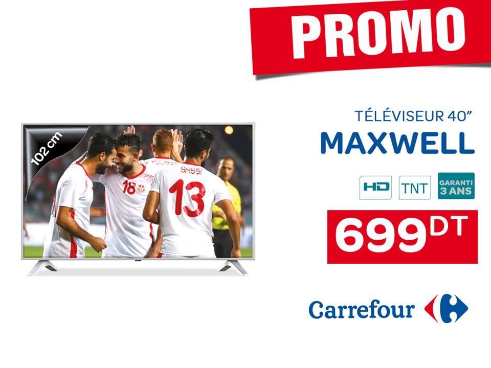 Promo tv maxwell
