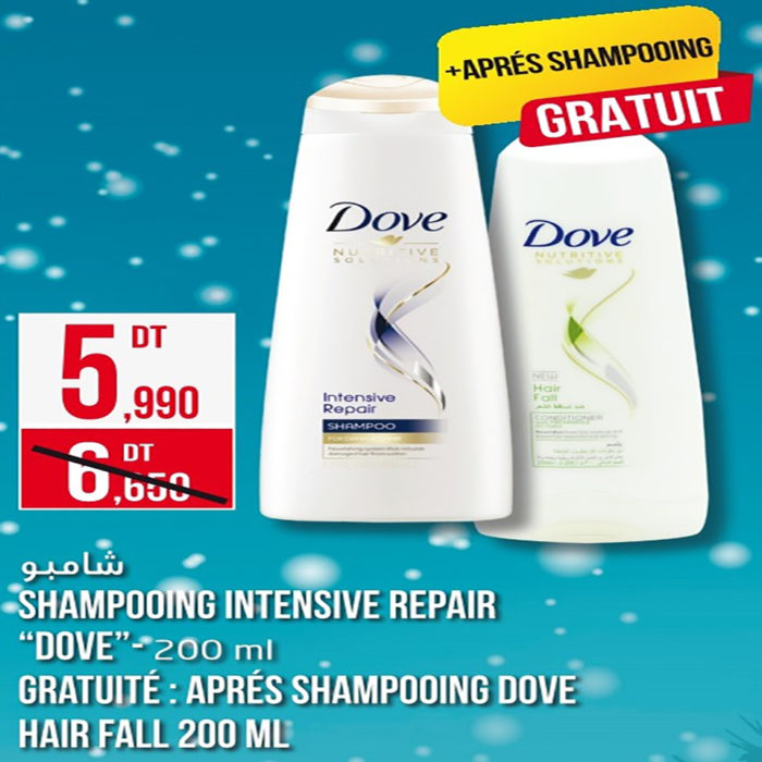 SHAMPOOING DOVE