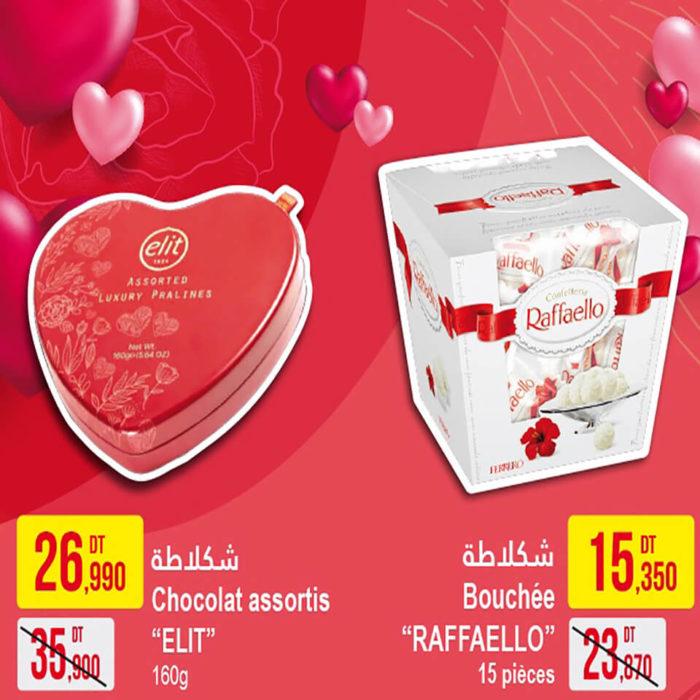 Chocolat RAFFAELLO & ELIT
